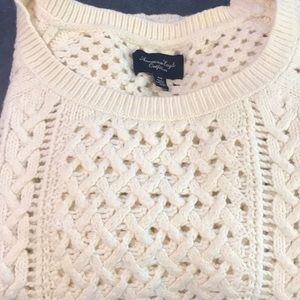 American eagle cozy crewneck sweater